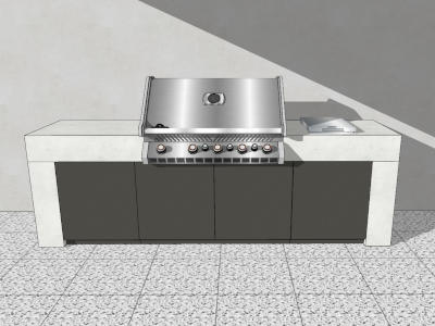 Outdoor Küche Pure aus Beton von vivandio