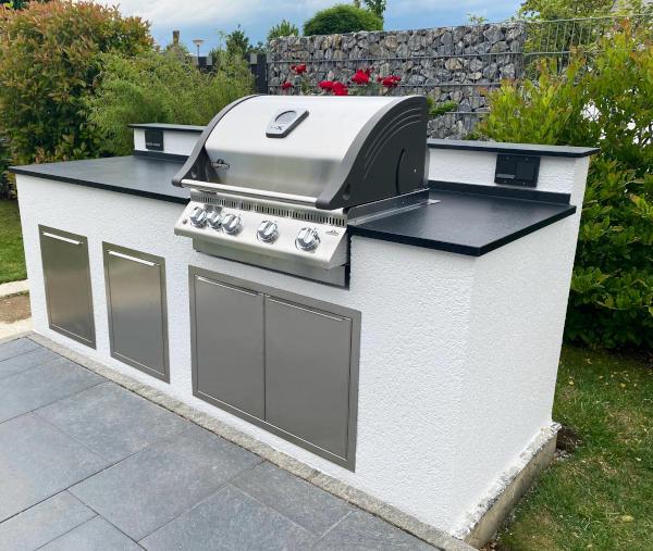 vivandio built-in Türen und Schubladen für die Outdoor Küche