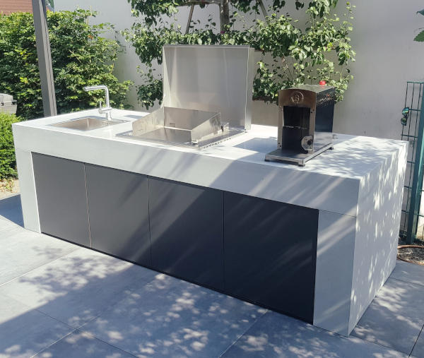 vivandio Outdoor Küche Pure aus Beton