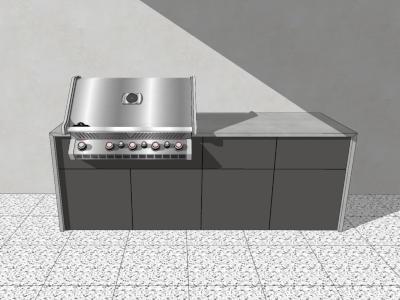vivandio Outdoor Küche elements 4 Module
