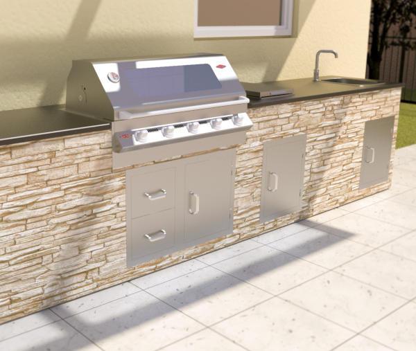 vivandio Outdoor Küche custom zum Selberbauen