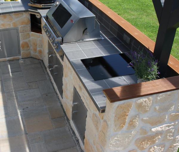 vivandio Induktionskochfeld für die Outdoor Küche