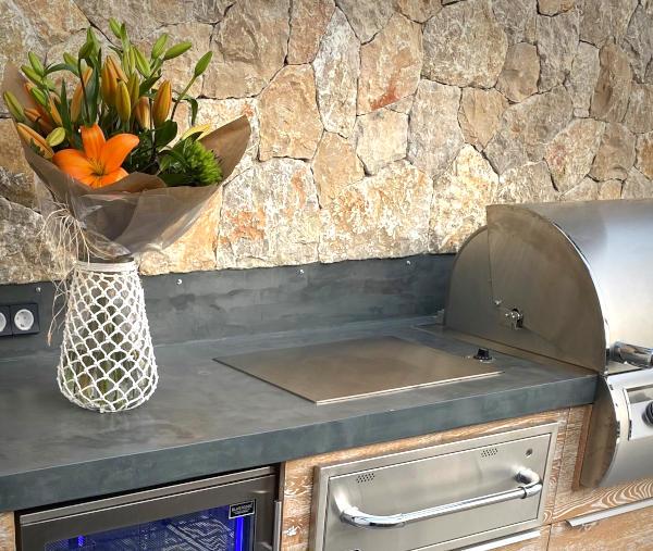 vivandio Outdoor Teppenyaki Grill für die Outdoor Küche